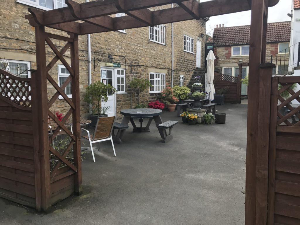 Beer Garden Archway